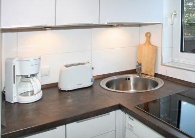 SPO-Hanack - Blick auf eine gepflegte Arbeitsfläche in der Küche.